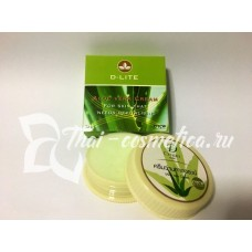 Aloe vera cream for skin, Крем алоэ вера для кожи 25 грамм